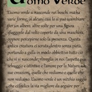 Pergamena Uomo Verde