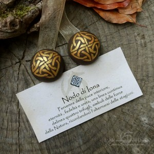 Magnets for Curtains with Celtic Knot/ Iona Knot