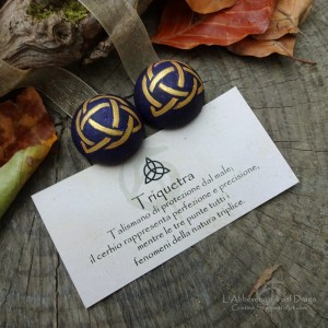 Magnets for Curtains with Triquetra