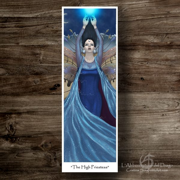 "Bookmark ""The High Priestess"""