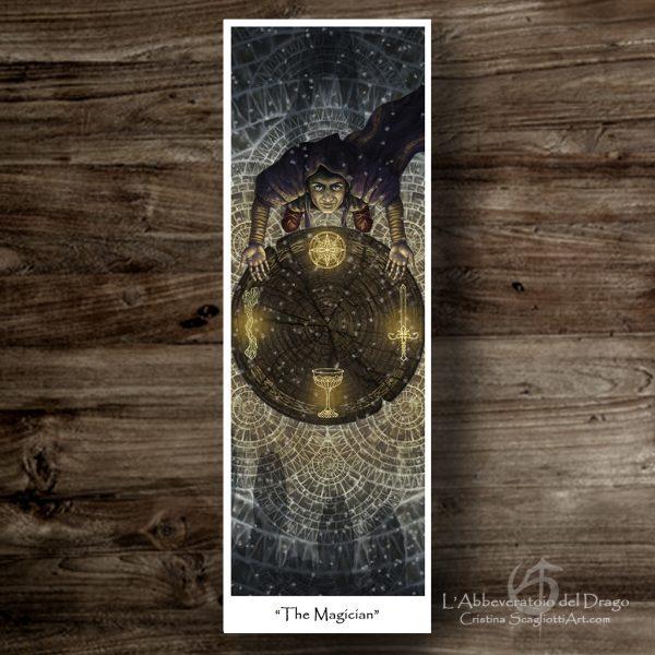 """Bookmark """"The Magicians"""""""
