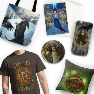 Society 6 and RedBubble Online Shops
