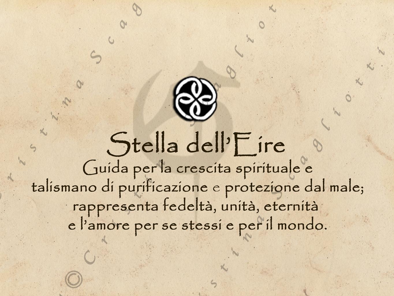 Magneti per Tende con Nodi Celtici/ Stella di Eire - CristinaScagliottiArt