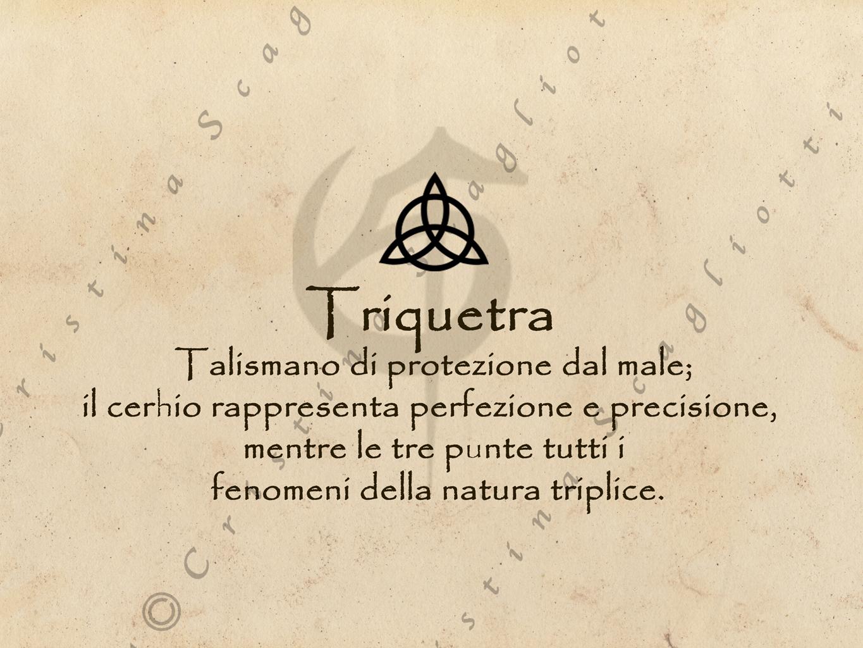 Magneti per Tende con Triquetra - CristinaScagliottiArt