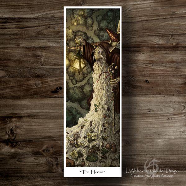 """Bookmark """"The Hermit"""""""