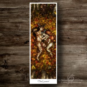 """Bookmark """"The Lovers"""""""