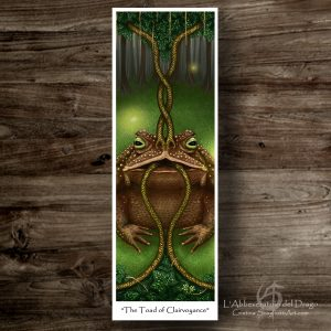 """Bookmark """"The Toad of Clairvoyance"""""""""""